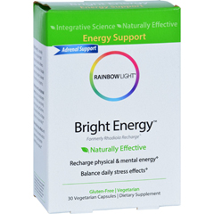HGR1648542 - Rainbow LightRemedies for Wellness - Bright Energy - 30 Tablets