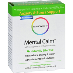 HGR1648583 - Rainbow LightMental Calm - Stress and Anxiety Support - 30 Tablets