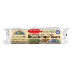 HGR1648591 - If You Care - Paper Towels - Reusable - Nat - Case of 8 - 12 count