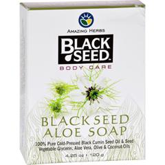 HGR1648609 - Black SeedBar Soap - Aloe - 4.25 oz