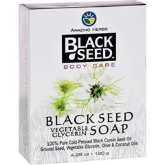 HGR1648625 - Black SeedBar Soap - Vegetable Glycerin - 4.25 oz
