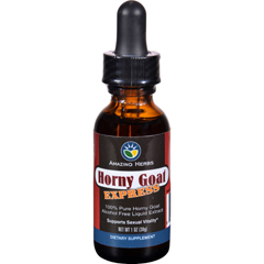 HGR1648724 - Amazing HerbsLiquid Extract - Horny Goat Express - 1 oz