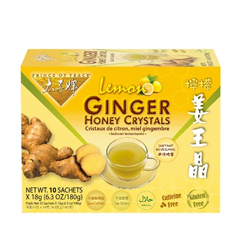 HGR1669795 - Prince of Peace - Tea - Instant - Ginger Honey Crystals - with Lemon - 10 Sachets