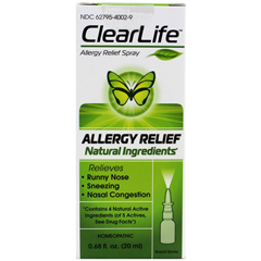 HGR1670777 - MedinaturaClearLife Nasal Spray - Allergy Relief - 20 ml