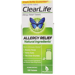 HGR1670785 - MedinaturaClearLife Tablets - Allergy Relief - 100 Tablets