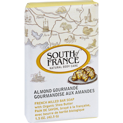 HGR1684455 - South of FranceBar Soap - Almond Gourmande - Travel - 1.5 oz - Case of 12