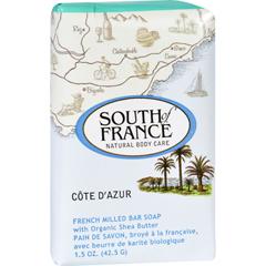 HGR1684463 - South of FranceBar Soap - Cote dAzur - Travel - 1.5 oz - Case of 12