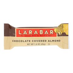 HGR1687094 - Larabar - Bar Chocolate Covered Almond - Case of 16-1.6 oz.