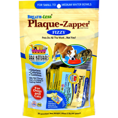 HGR1688688 - Ark NaturalsBreath-Less Plaque-Zapper - Fizzy - Small to Medium Pets - 30 Count