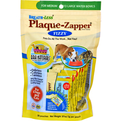 HGR1688696 - Ark NaturalsBreath-Less Plaque-Zapper - Fizzy - Medium to Large Pets - 30 Count