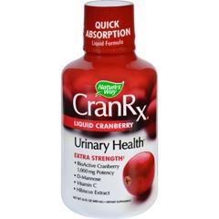 HGR1691237 - Nature's WayNatures Way Cran Rx - Urinary Health - Liquid Cranberry - Extra Strength- 16 oz