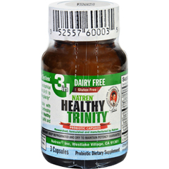 HGR1691286 - NatrenHealthy Trinity Probiotic - 3 Capsules - Case of 6