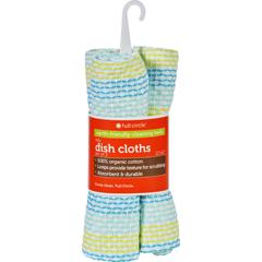 HGR1692508 - Full Circle HomeDish Cloth - Tidy - Spring Green - 3 Count