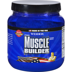 HGR1692706 - Weider Global NutritionMuscle Builder - Dynamic - Powder - Chocolate - 1.15 lb