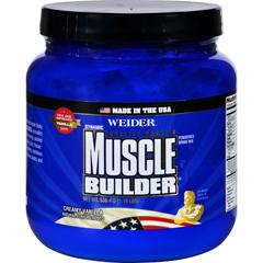 HGR1692714 - Weider Global NutritionMuscle Builder - Dynamic - Powder - Vanilla - 1.18 lb