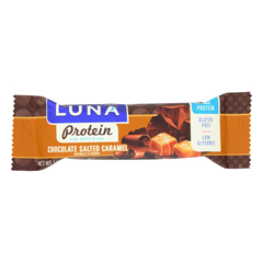 HGR1693357 - Luna - Protein Chocolate Salted Caramel - Case of 12 - 1.59 oz..