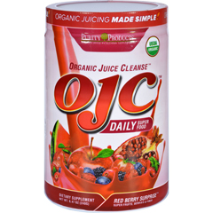 HGR1694264 - OJC-Purity ProductsOrganic Juice Cleanse - Certified Organic - Daily Super Food - Red Berry Surprise - 8.47 oz