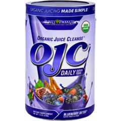 HGR1694280 - OJC-Purity ProductsOrganic Juice Cleanse - Certified Organic - Advanced Daily Fiber Formula - Blueberry Detox - 7.4 oz