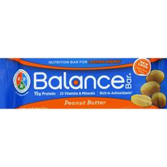 HGR1694405 - Balance Bar Company - Peanut Butter - 1.76 oz - Case of 6