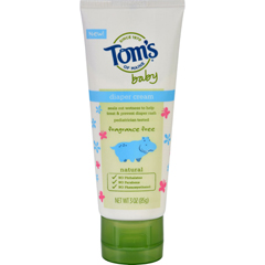 HGR1694470 - Tom's of MaineToms of Maine Diaper Cream - Baby - Fragrance Free - 3 oz - Case of 6