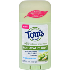 HGR1694488 - Tom's of MaineToms of Maine Deodorant - Naturally Dry - Stick - Fresh Meadow - 2.25 oz - Case of 6
