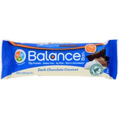 HGR1694892 - Balance Bar CompanyDark Chocolate Coconut - 1.58 oz - Case of 6
