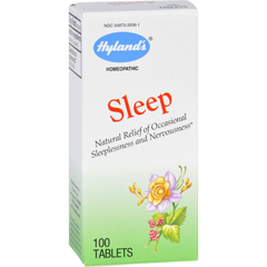 HGR1695220 - Hyland'sHomeopathic Sleep - 100 Tablets
