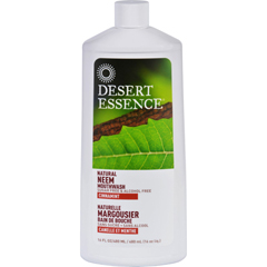 HGR1698463 - Desert EssenceMouthwash - Natural Neem - Cinnamint - 16 oz