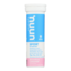 HGR1698489 - Nuun Hydration - Nuun Active - Strawberry Lemonade - Case of 8 - 10 Tablets
