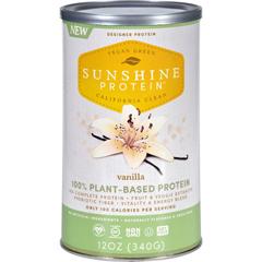 HGR1699438 - Sunshine ProteinShake Mix - Plant-Based - Vanilla - 12 oz