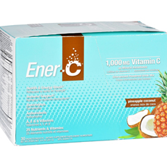 HGR1699693 - Ener-CPineapple Coconut - 1000 mg - 30 Packets