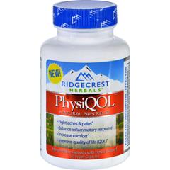 HGR1699776 - RidgeCrest HerbalsPhysiQOL™ Pain Relief - 60 Vegan Capsules