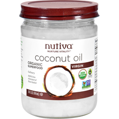 HGR1701218 - NutivaCoconut Oil - Organic - Superfood - Virgin - Unrefined - 14 oz - Case of 6