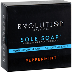 HGR1702273 - Evolution SaltBath Soap - Sole - Peppermint - 4.5 oz