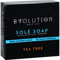 HGR1702307 - Evolution SaltBath Soap - Sole - Tea Tree - 4.5 oz
