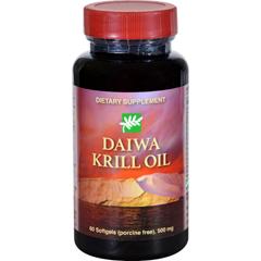 HGR1702596 - Daiwa Health DevelopmentKrill Oil - 500 mg - 60 Softgels
