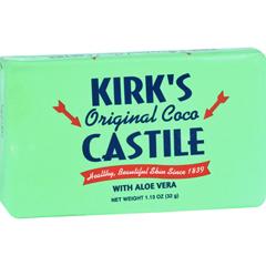 HGR1702737 - Kirk's NaturalKirks Natural Bar Soap - Coco Castile - Aloe Vera - Travel Size - 1.13 oz