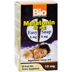 HGR1702836 - Bio NutritionInc Melatonin - 10 mg - 60 Tablets