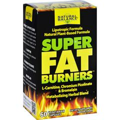 HGR1703529 - Natural BalanceSuper Fat Burners - 60 Vegetarian Capsules