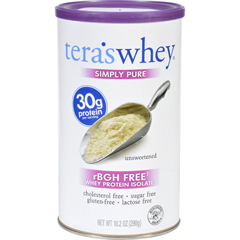 HGR1704246 - Tera's WheyProtein Isolate - Whey - Simply Pure - Unsweetened - 10.2 oz