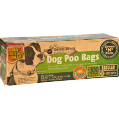 HGR1704741 - Eco-Friendly BagsGreen N Pack Dog Poo Bags - Litter Pick Up - 300 Bags - 1 Count