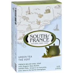 HGR1704964 - South of FranceBar Soap - Green Tea - Full Size - 6 oz