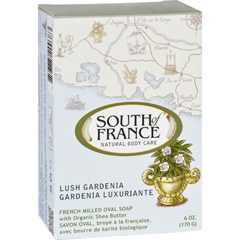 HGR1705938 - South of FranceBar Soap - Lush Gardenia - Full Size - 6 oz