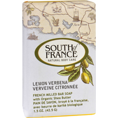 HGR1706365 - South of FranceBar Soap - Lemon Verbena - Travel - 1.5 oz - Case of 12