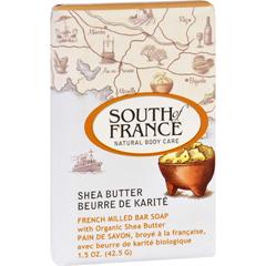 HGR1706381 - South of FranceBar Soap - Shea Butter - Travel - 1.5 oz - Case of 12