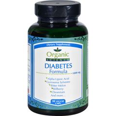 HGR1708072 - Organic ScienceDiabetes Formula - 30 Veggie Caps