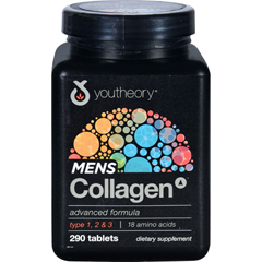 HGR1711852 - YoutheoryCollagen - Mens - Advanced - 290 Tablets