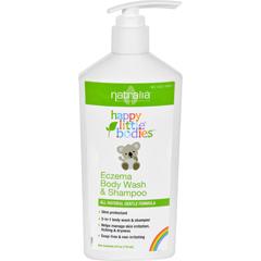 HGR1712173 - Happy BabyHappy Little Bodies Eczema Body Wash and Shampoo - Natralia - 6 oz