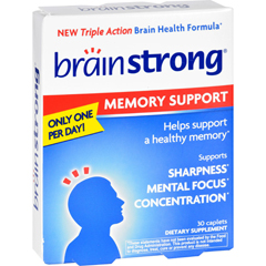 HGR1713312 - BrainstrongBrainStrong Memory Support - 30 Capsules