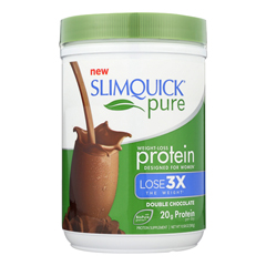 HGR1713445 - SlimQuickProtein Powder - Pure - Women - Chocolate - 10.58 oz